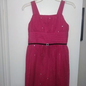 Girl's Sparkly Event Dress